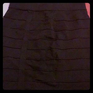 Form fitted skirt